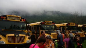 XC Vallee 2015 - Depart autobus
