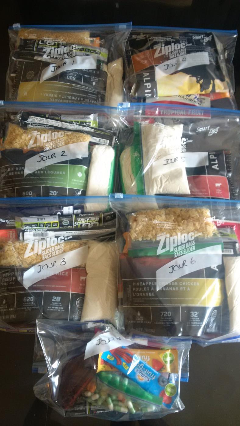 Garde manger en sacs - MDS2016