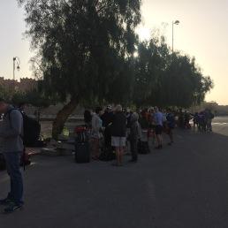 MDS2016 - Point de ralliement pour depart dans le desert